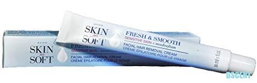 Avon SSS Fresh and Smooth Facial Hair Removal Cream 1 Ounce - Sensitive Skin