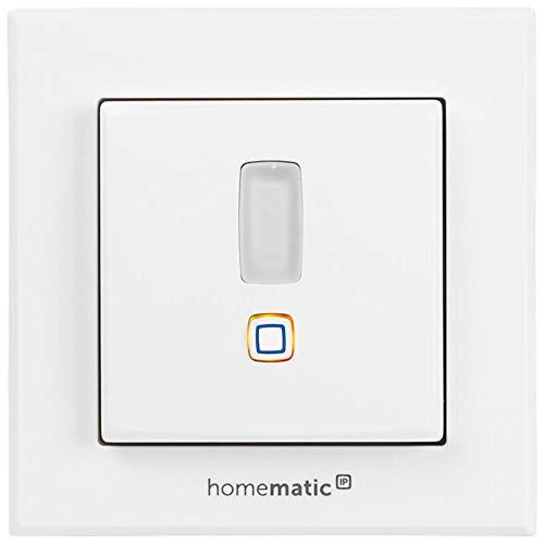 Homematic IP ELV Bausatz Bewegungsmelder für 55er Rahmen HmIP-SMI55 mit 2-Kanal-Funksender