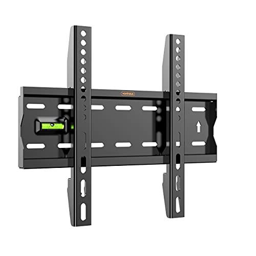 VonHaus TV Wandhalterung 15-42 Zoll (ca. 38-107cm) - Flache Halterung für VESA-Kompatible Bildschirme, 40kg Gewicht