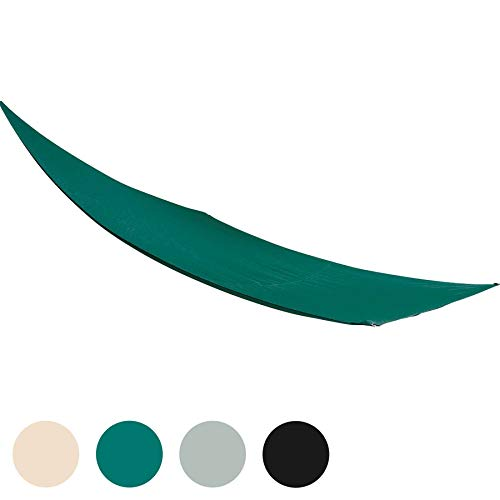 Harbour Housewares Toldo Impermeable para Exteriores - Protección UV del 98% - Rectangular - Verde - 2,5 x 3m