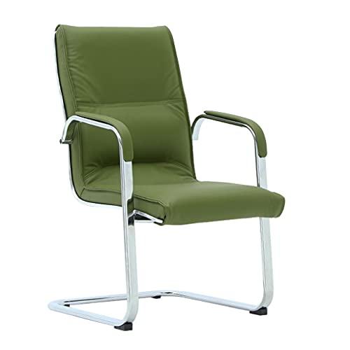 LICHUAN Silla ergonómica de Oficina, Silla de tareas ejecutivas de armatas, Silla de Oficina de computadora para Oficina en casa (Color : Green)