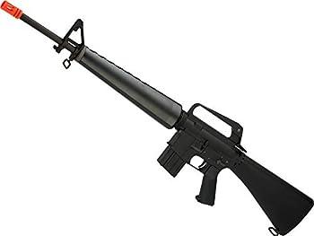 Evike WE-Tech M16-A1 Full Metal Gas Blowback Airsoft Rifle
