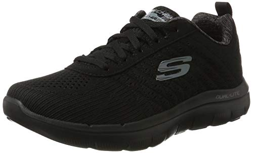 Skechers Herren Flex Advantage 2.0 The Happs Outdoor Fitnessschuhe, Schwarz (Black), 44 EU