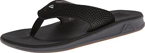 Reef Men#039s Sandals Rover | WaterFriendly Men#039s Sandal With Maximum Durability and Comfort | Waterproof Black 10