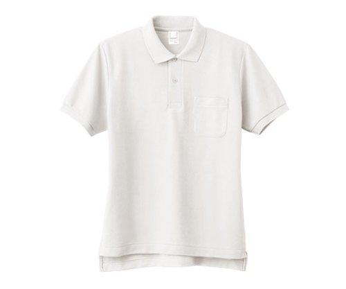 [パントン] ポロシャツ 半袖 トップス 男女兼用 ユニセックス ポケット付き FNP101 ホワイト 日本 M (日本サイズM相当)