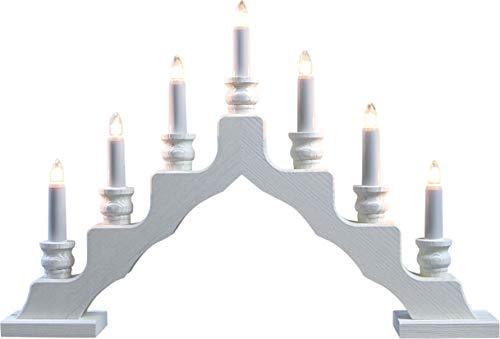 weigla LED Schwedenleuchter/Schwibbogen