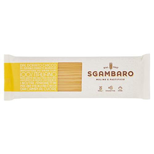 Pasta Sgambaro - Spaghettini N. 3 - 100% grano duro italiano - 500 gr