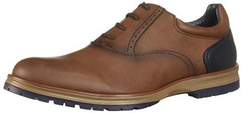 cklass 021-85 Zapato Casual Hombre Tabaco Cordones Forro Sintético Talla: 29.5