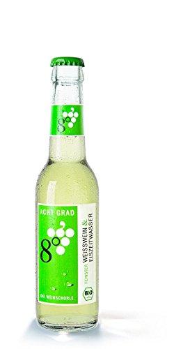 Acht Grad Bio ACHT GRAD - Die Weinschorle. weiß (12 x 275 ml)