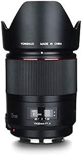 YONGNUO YN35MM F1.4C Bright Aperture Standard Wide-Angle Prime Lens Full Frame AF MF Lens for 67mm Filter for Canon DSLR Camera