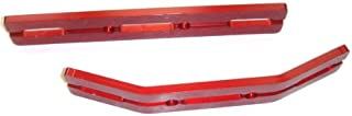 Revo 2.5 or 3.3 and E Revo Red Anodized Bumper Set New Includes a Free Set of Silver Dual Rate Springs …