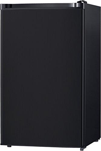 Midea WHS-160RB1 Single Reversible Compact Refrigerator, 4.4 Cubic Feet, Black (Renewed)