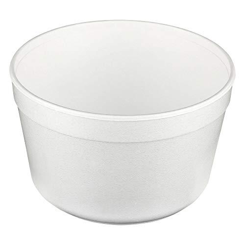 1-PACK Thermoschale Thermobehälter Suppenschale F16 rund EPS 460ml 16oz weiß, 100 Stück