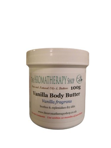 Vanille Beurre Corporel 100gr Tube/Superbe Vanille Arôme