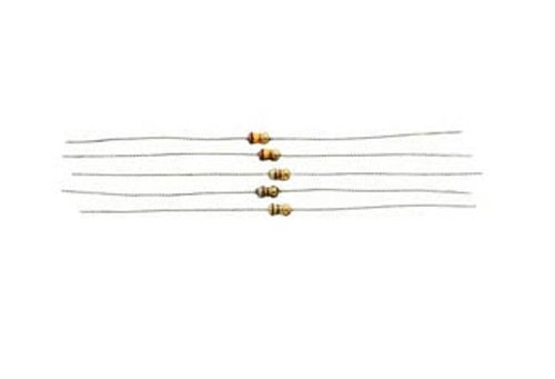 Virginia Beach Mall 15 Ohm 1 2W 5% Film Carbon Resistor Sales results No. 1 5-Pack