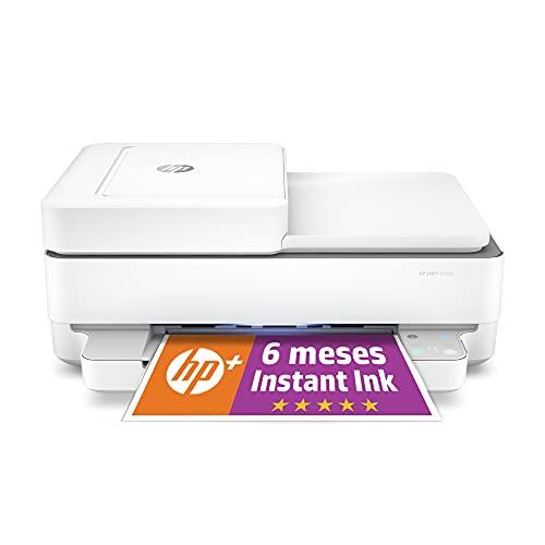 Impresora Multifunción HP Envy 6420e - 6 meses de impresión Instant Ink con HP+