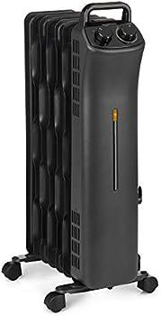 Amazon Basics 1500W Manual Control Portable Radiator Heater