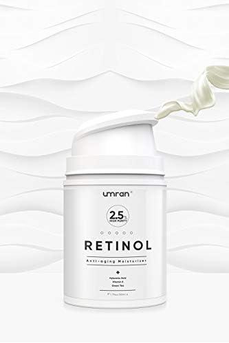 UMRAN Premium Retinol Cream Anti Aging Moisturizer Cream 2 5 for Face and Eye Care Anti Wrinkle product image