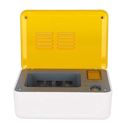 UV Elektrisch Sterilisationsbox für Hörgeräte Konstante Temperatur Reinigung und Pflege Hörgeräte Wartungswerkzeug Hörgeräte Wartungsset für die Reinigung von Hörgeräten