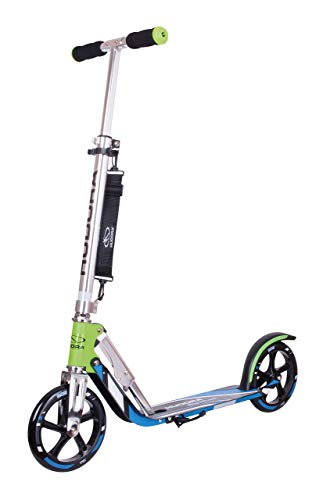 Hudora City Scooter Big Wheel ALU 8 205 Verde/AZ