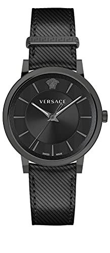 VERSACE V Circle VE5A002 20 - Reloj de pulsera para hombre