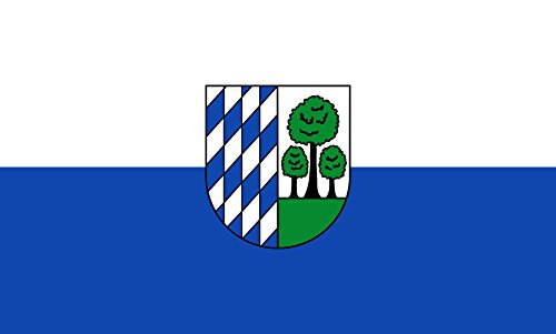 Unbekannt magFlags Tisch-Fahne/Tisch-Flagge: Sandhausen 15x25cm inkl. Tisch-Ständer