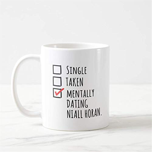N\A Mentally Dating Niall Horan Taza One Direction Taza One Direction Niall Horan Merch Niall Horan Tour NH Logo Niall Horan Harry Styles