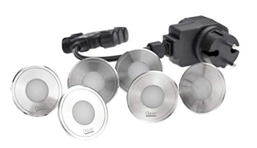 Oase Bodeneinbauleuchte LunAqua Terra LED Set 6