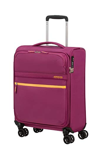 American Tourister Matchup Bagaglio a Mano Spinner S (55cm-42L), Rosa (Deep Pink)