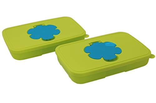 Tupperware® Feuchttücherbox klein 2X 650 ml + Kugelschreiber *Tolle Haushaltshelfer*.