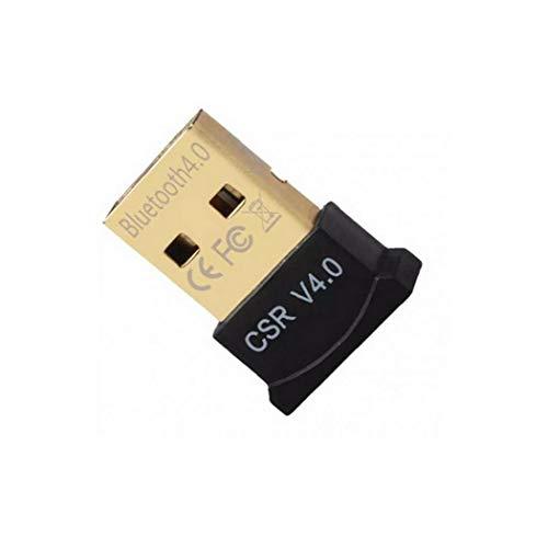 Gracy Bluetooth 4.0 USB Low Energy Micro Adapter Dongle für PC mit Windows 10/8.1/8/7 / Vista/XP, Raspberry Pi, Linux und Stereo-Headset kompatibel (schwarz), Notebook-Zubehör