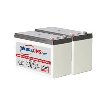 APC Power-Saving Back-UPS Pro 1200 230V BR1200GI Compatible Replacement Battery Pack RBC124 by UPSBatteryCenter