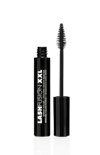 Fusion Beauty Lash Fusion XXL Extreme Volume and Long-Term Growth Mascara, Black, 0.39 Ounce by Fusion Beauty