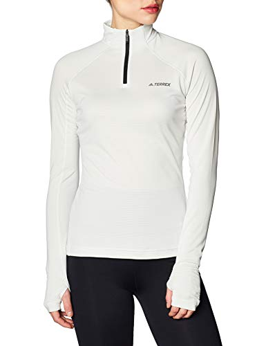 adidas Damen Langärmliges T-Shirt W TraceRo 1/2LS, Griorb, 46, FK8904