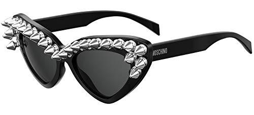 Moschino Gafas de Sol MOS030/S Black/Dark Grey 59/20/140 mujer