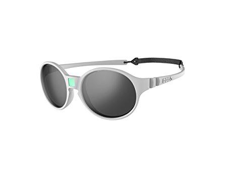 Ki Et La Ki ET LA - Kindersonnenbrille im Stil Jokakids - 100% unzerbrechlich - Hellgrau - 4-6 Jahre