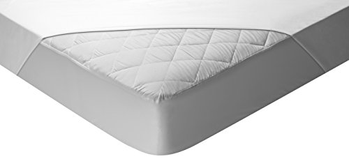 Pikolin Home - Protector de colchón acolchado (cubre colchón) Aloe Vera, impermeable, 105x190/200cm-Cama 105(Todas las medidas)