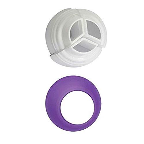 Pegcdu Icing Piping Bag Russian Nozzle Converter Creme Kuppler Kuchen-Fondant-Plätzchen-Gebäck-Adapter
