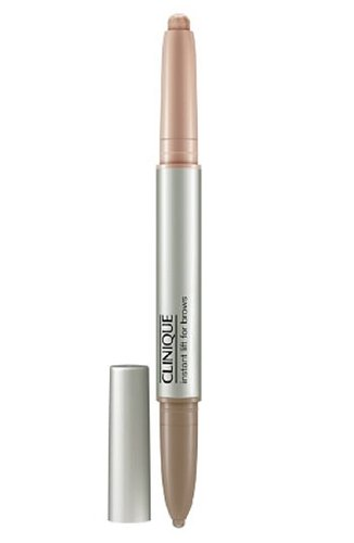 Clinique Instant Lift For Brows-Crayon Sourcils Lift Instantane Two-In-One #02 Soft Brown 0.004Oz Brow Shaper, 0.01Oz Brow Highlighter