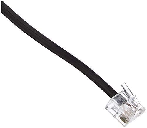 InLine 18615 TAE-F Kabel für DSL Splitter, TAE-F Stecker an Western 6/2 DEC Stecker, 15m