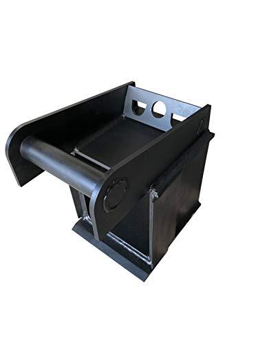 Rodungshobel Wurzelhobel Wurzelschäler Wurzelschneider Aufnahme MS03 Minibagger