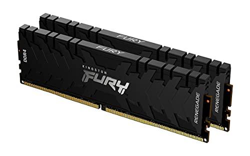 Kingston FURY Renegade 16GB (2x8GB) 3200MHz DDR4 CL16 Memoria Gaming Kit per Computer Fissi Kit da 2 KF432C16RBK2/16