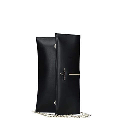 PATRIZIA PEPE Borsa Clutch Tasche Leder 28 cm