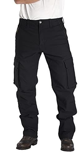 Rokker Motorrad Jeans Motorradhose Motorradjeans Black Jack Jeans schwarz 34/32, Herren, Chopper/Cruiser, Ganzjährig, Textil
