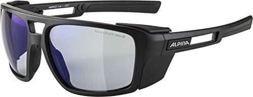 ALPINA Unisex - Erwachsene, SKYWALSH VLMB+ Sportbrille, black matt, One size