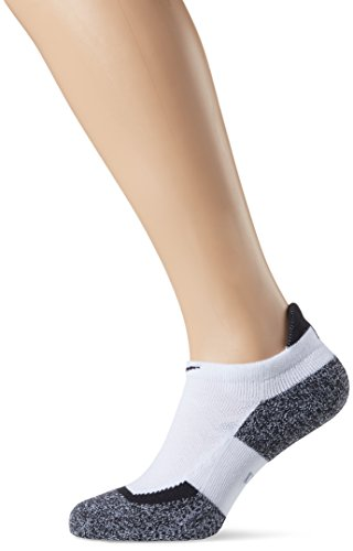 Nike Elite Tennis No Show Socks, Multicolore (Bianco), S