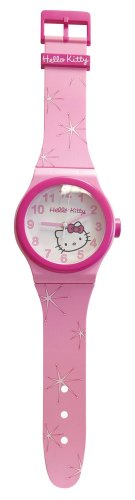Hello Kitty 25397 - Reloj para niños de Cuarzo, Correa de plástico Color