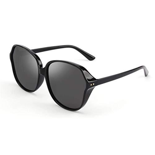 WSDSX Gafas de sol polarizadas deportivas al aire libre Gafas de conducción femeninas coloridas Gafas de sol antideslumbrantes UV400 Ideal, para ciclismo, pesca, correr, negro