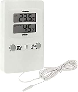 for Tang YI MING TL TH02 Digital LCD Indoor Outdoor Sensor Probe Weather Humidity Hygrometer Thermometer Meter Messgerät