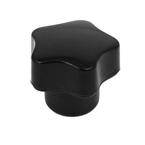 47mm bouton serrage Machine Star t/ête Grip Noir sourcing map M10 Filetage femelle Dia